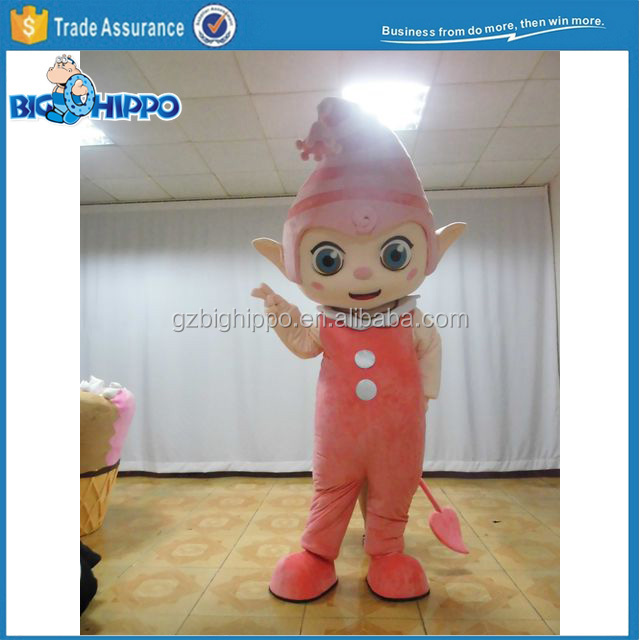 Cute Elf Mascot Costume