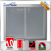 interior AS1288 structural glazing aluminum alloy sliding window for commercial
