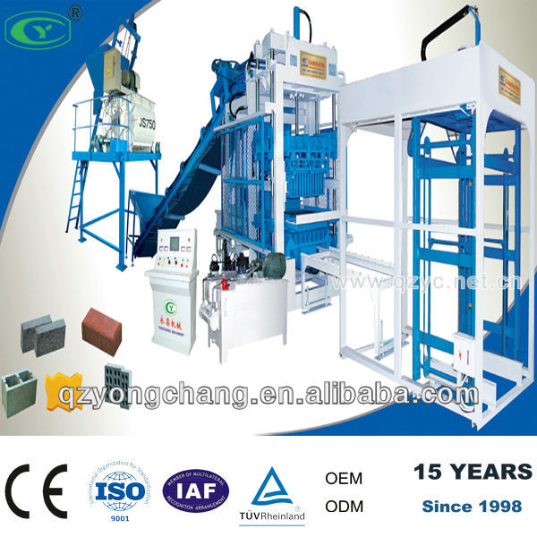 Easy operation interlocking brick machine, brick machine price, brick machinery