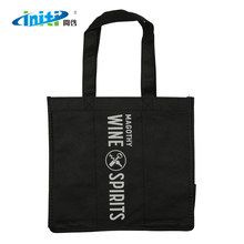Wholesale Custom Print Promotion New Design Nonwoven Wine Tote Bags