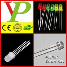 white red green yellow 5mm dip led manufacturer