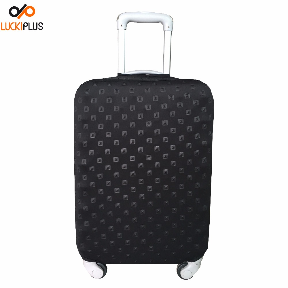 Luckiplus Spandex & Polyester Rivet Design Luggage Cover S/M/L/XL Made in China