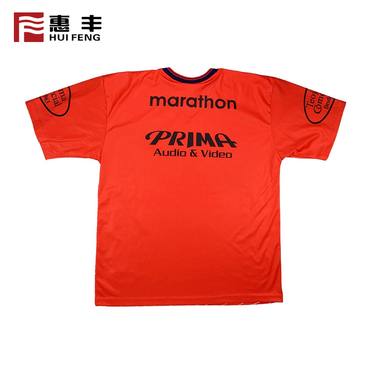 Custom Design Sublimation Printed 95% Polyester 5% Spandex T Shirt Silk Screen Printing Machine Custom