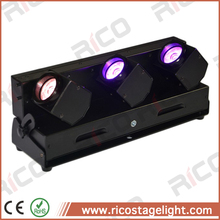 beam effect battery powered 3x15w rgbw bar led stage lighting wireless dmx