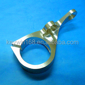 Aluminum Clamp via full CNC precison Machining
