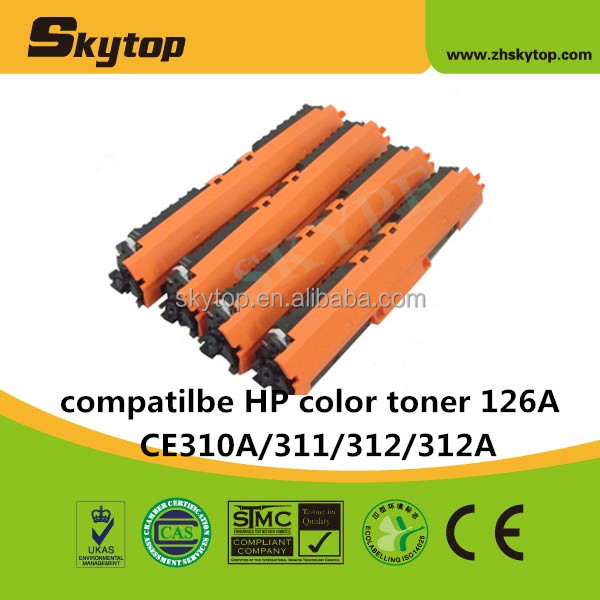 color toner CE310A/311A/312A/313A for HP CP1025 print cartridge