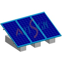 solar panel mounting for stand-alone PV system
