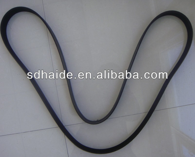 fan belt 6bt mitsubishi, excavator cogged v diesel engine generator rubber fan driven belt