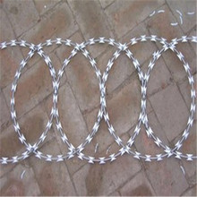 High Quality Flat Concertina Razor Barbed Wire (factory price)