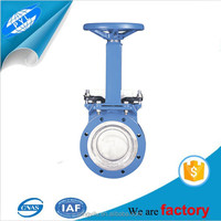 cast steel manual/electric wcb knife gate valve with prices