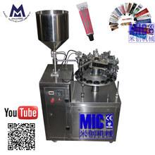 MIC-R40 soft tube automatic whipping cream filling machine