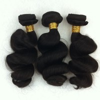 Wholesale virgin Brazilian human hair extension weave brazilian hair styles pictures loose wave texture