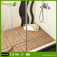 Non Slip WPC Outside Floor Wood Plastic Composite/Eco-friendly Decorate Decking
