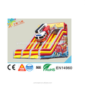 Giant inflatable three ways slide with fire fighting truck style from Guangzhou factory