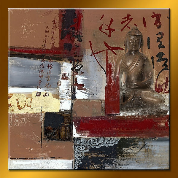 Newest Handmade Artistic Buddha Oil Paintings