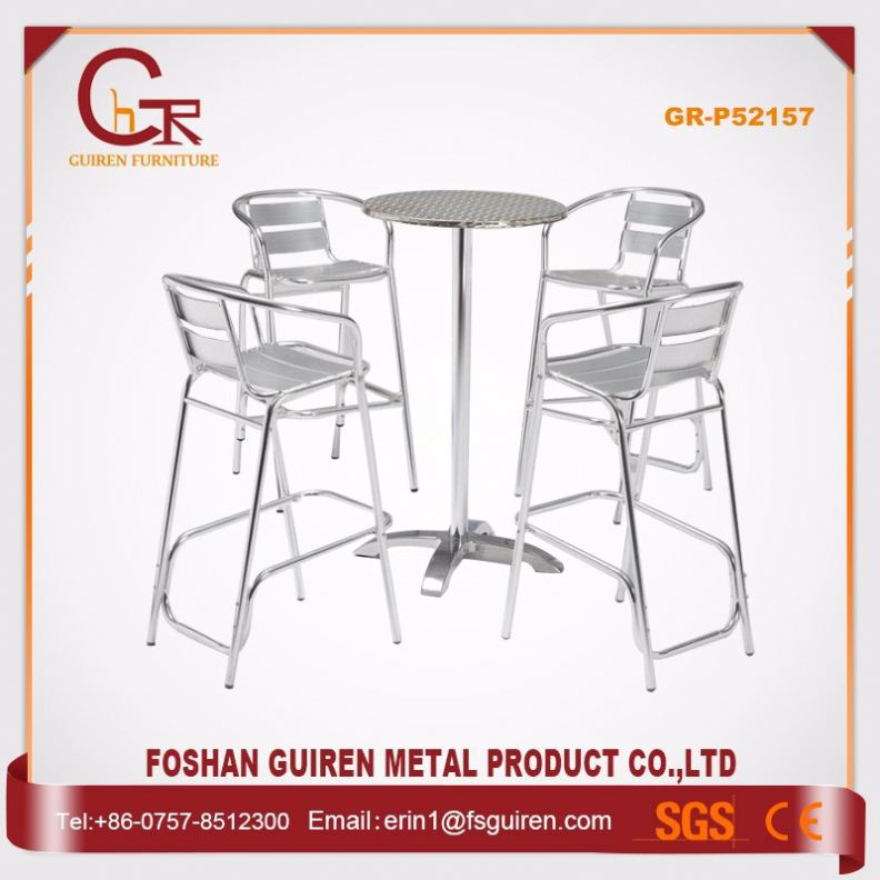 New Recommended Security Polywood romancic led coffee shop tables and chairs