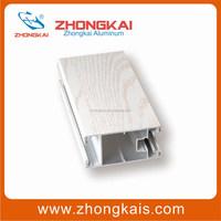 White Color Door Profile Aluminum Extrusion Companies in China