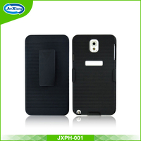 Factory price fancy phone belt clip case for Samsung galaxy for note 3