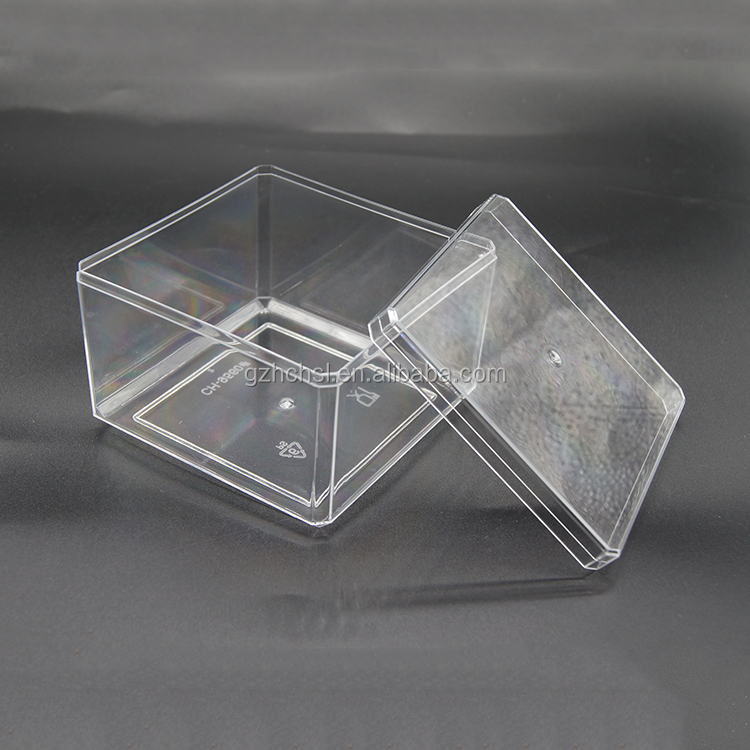Crystal Clear wide mouth Storage Containers PET Plastic Jars with Lids