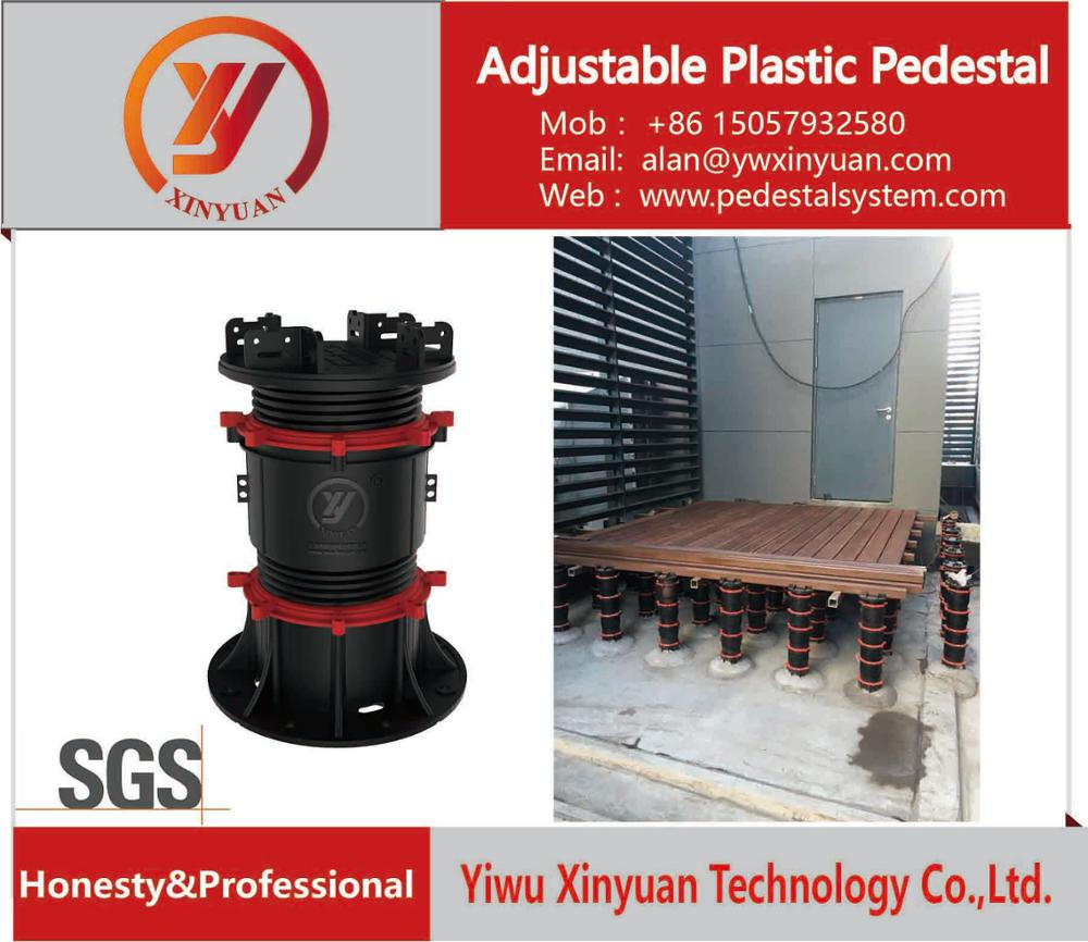 low price WPC floor decking outdoor pedestal in Yiwu company,China