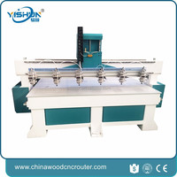 cnc router with rotational axis large sized cnc router multi spindle