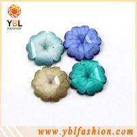 Hotfix Resin Flower For Zara Kids Epoxy Stone Iron On W/ Glue