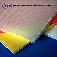 Recyclable anti conductive twin wall corrugated sheet,sheeting