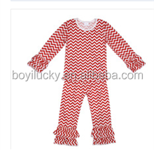 Boys Girls Pajamas Sets Baby Clothes Child Infant Stripe Knitted Cotton Pajamas Kid Sleepwear Baby Clothes Set