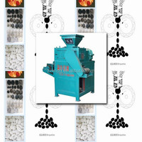 Strong pressure roller briquette machine for coal/coke/mineral powder