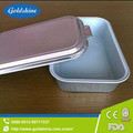 high quality manufacutuer aluminum foil tray with lid