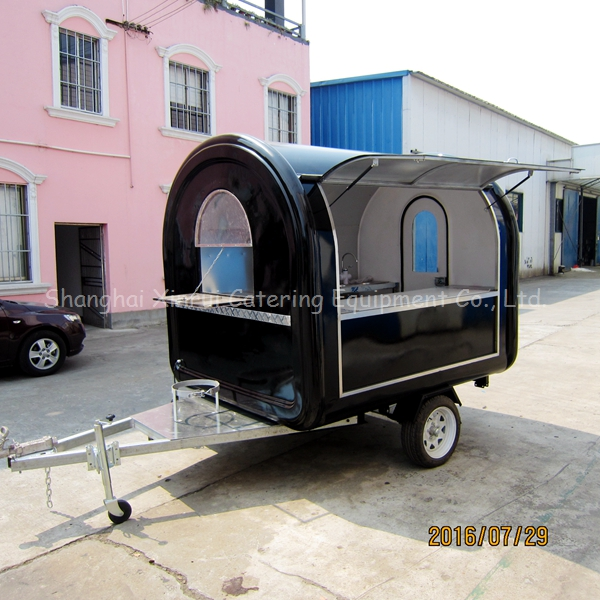 factory supply mobile food cart for sale