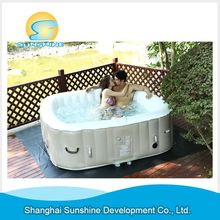 New style New Arrival pvc inflatable hot tubs for sale