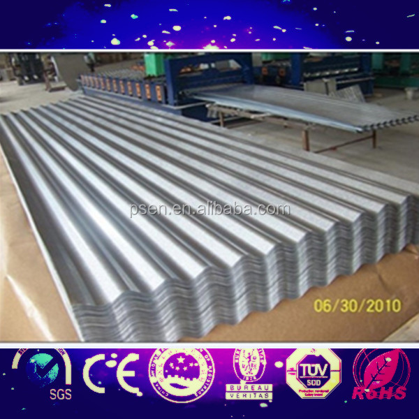 corrugated iron roof sheets corrugated sheet metal roof making machine zinc coated steel roof corrugated steel