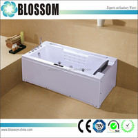 White strong custom made whirlpool bathtub for dubai