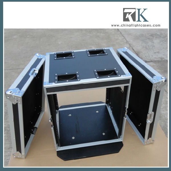 "RK 19"" Depth rack mount case with casters"