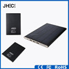 12000mah Li-polymer battery solar charger slim metal power bank for Iphone HTC