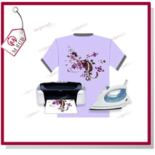 good quality t-shirt transfer papier a4 size inkjet light