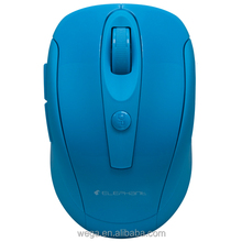 6 Buttons USB optical silent office PC Candy Color 2.4g wireless Mouse