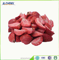 Chinese dried strawberry dry fruit, bulk freeze dried strawberries for sale