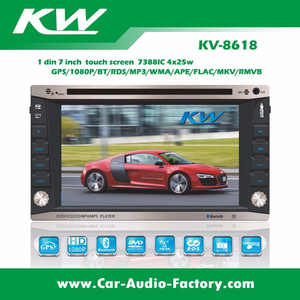 jiangmen double din bluetooth radio dvd autos