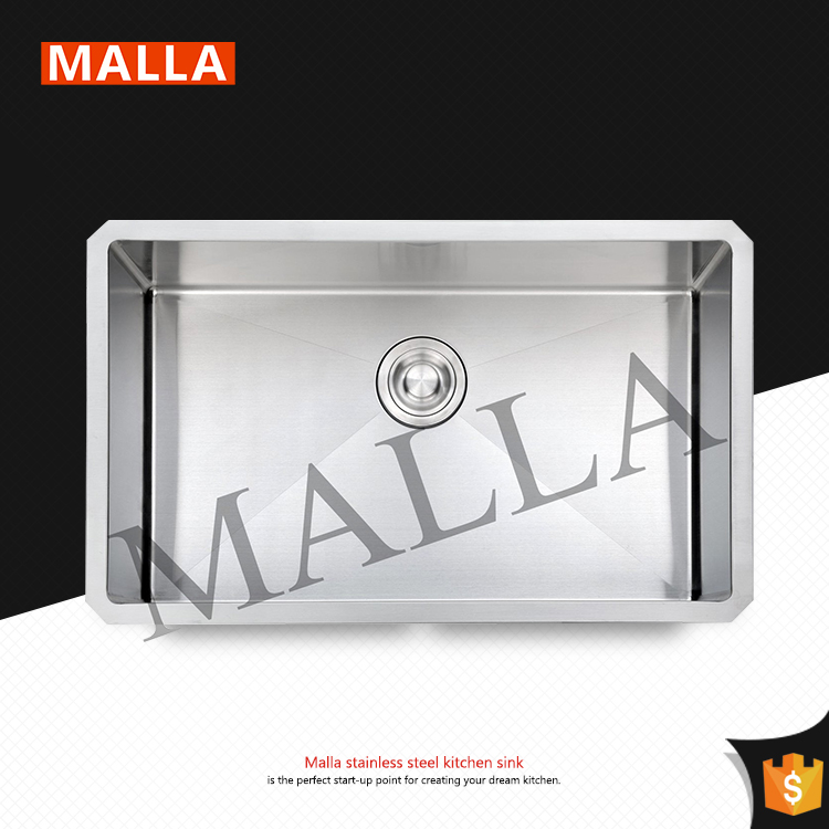 Wholesael Commercial-Grade Brushed Surface Kitchen Sinks Stainless Steel