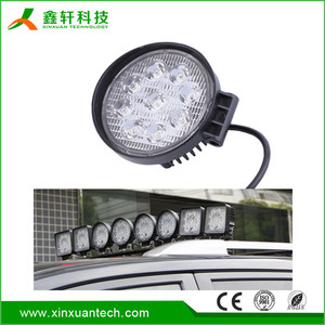 Car accessories 27W flood LED work light, 4x4 off road light led tractor outdoor led work light bar