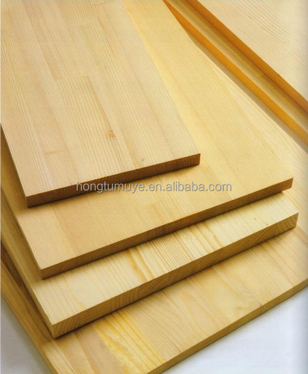 Solid Pine/Paulownia Wood FJ/Edge Glued Finger Joint Panels