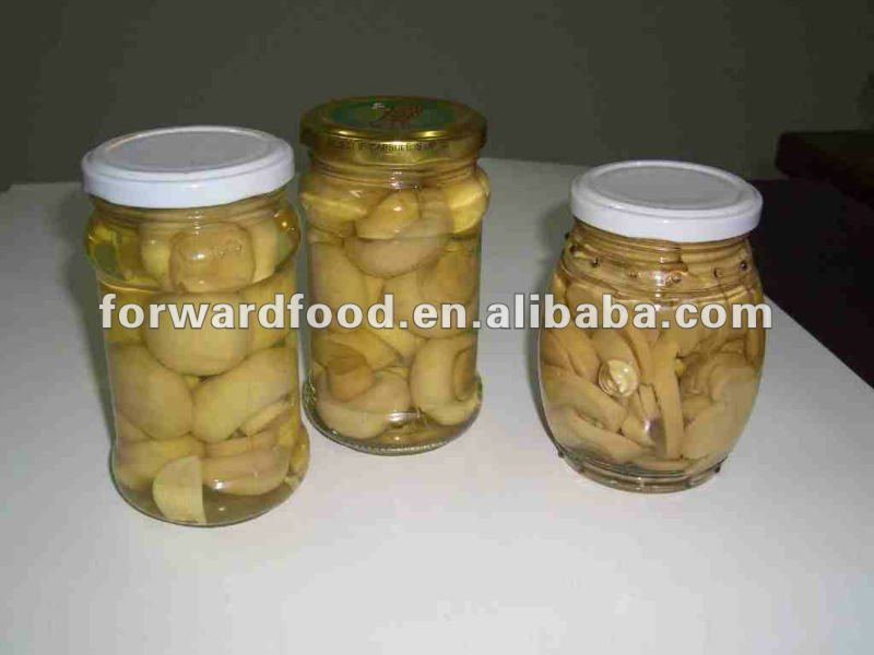 names of edible mushroom in jar