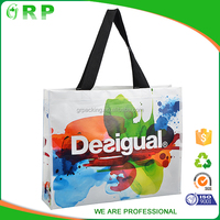 New and Fashion recyclable & reusable non-woven foldable shopping bag