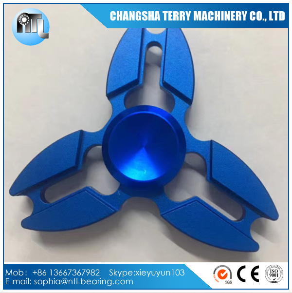Aluminium Alloy Triangle Crab Hand Spinner For ADHD Finger Spinner Reduce Stress