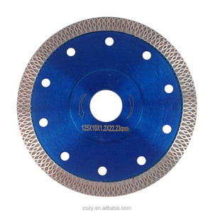7 inch Glass Tile Continuous Rim Diamond Saw Blade for Dry Tile cutting