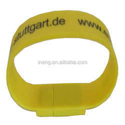 Oem factory china large capacity wristband 250gb usb flash drive