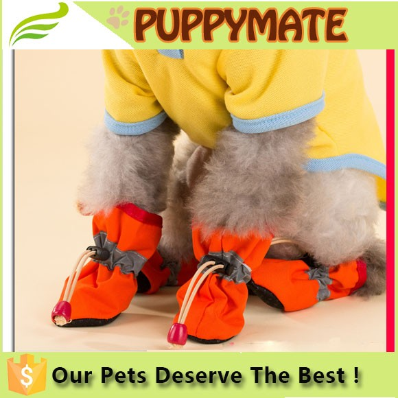 Love Dog 4pcs/Set Pet Dog Shoes/Footwear Rain Boots Dog Waterproof Rain Shoes