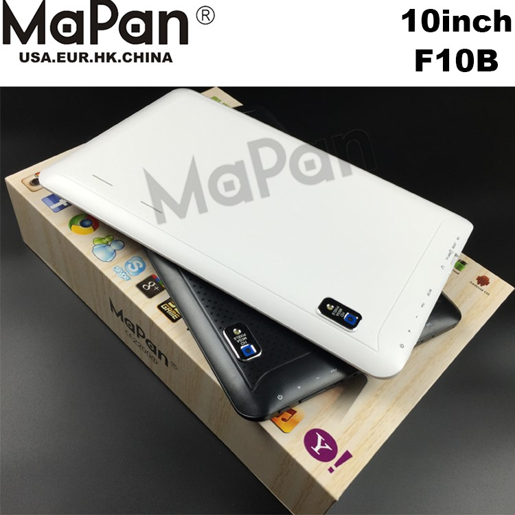 New comming!new product quad core tablet pc 10 inch android 5.1 allwinner a33 Supports WiFi BT MaPan F10B